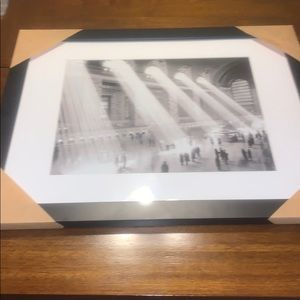 CLASSIC GRANS CENTRAL STATION PRINT B/W